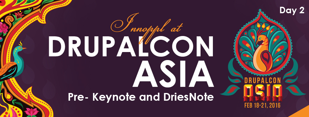 Innoppl at DrupalCon Asia – Day 2