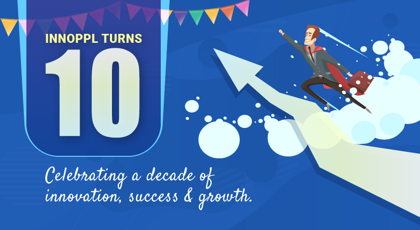 Innoppl Turns 10. Celebrating A Decade Of Innovation, Success And Growth